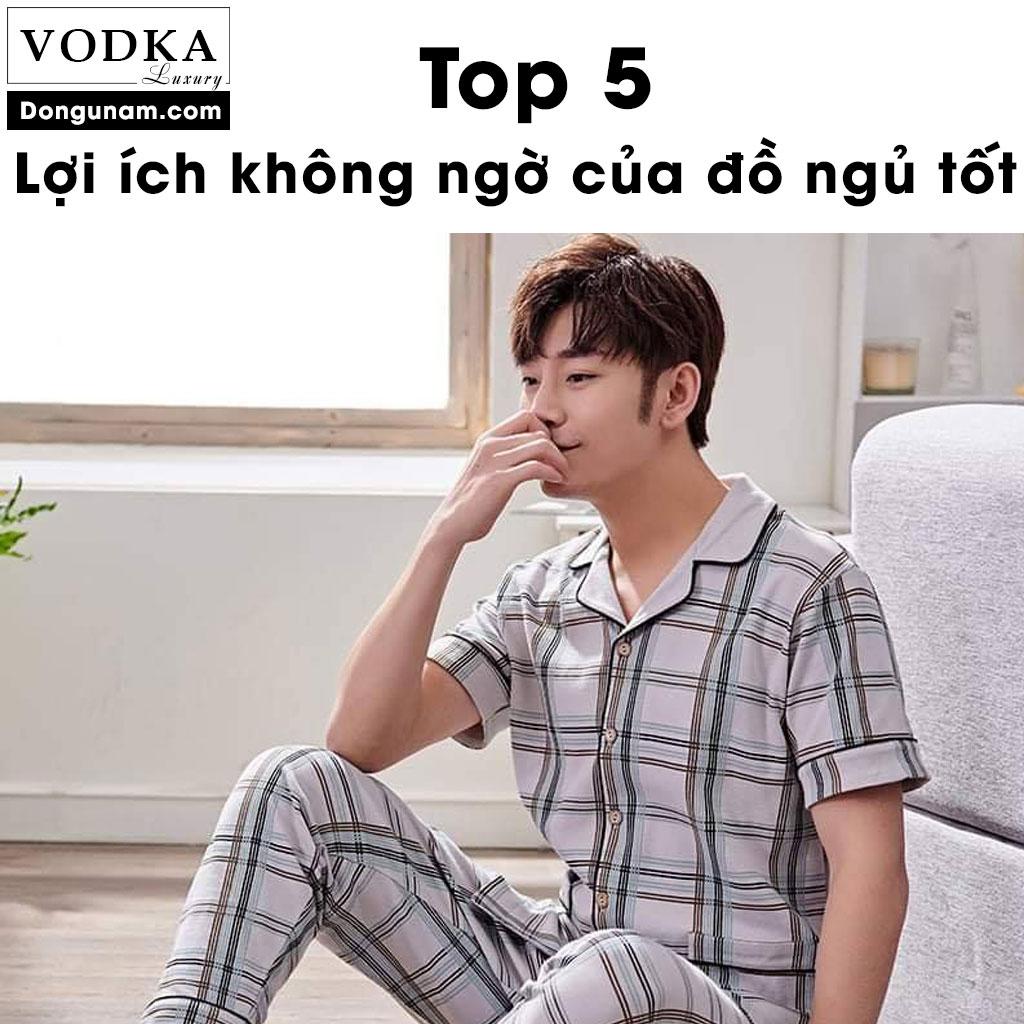 TOP 5 Lợi ích không ngờ của bộ đồ ngủ tốt